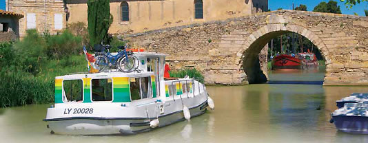 self drive canal boats Argens